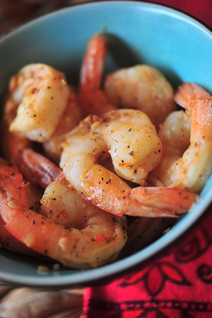 Crock Pot Garlic Pepper Shrimp Recipe - Domestic Geek Girl