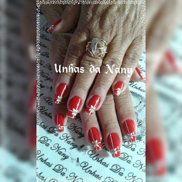 Unhas vermelhas #unhasdaNany