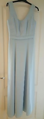 Ladies Prom/Bridesmaid/Wedding Maxi Dress Light Blue Used EXCELLENT CONDITION