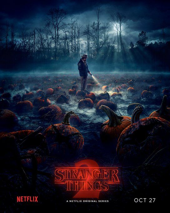 New Stranger Things 2 poster I'm shook