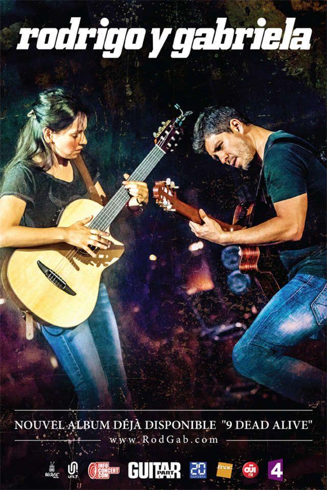 Rodrigo y Gabriela en concert au Zénith de Paris : gagnez vos places avec OÜI FM