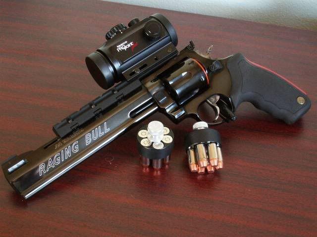"""Taurus M444 Raging Bull 44 Mag. 8 3/8"""" BBL"""