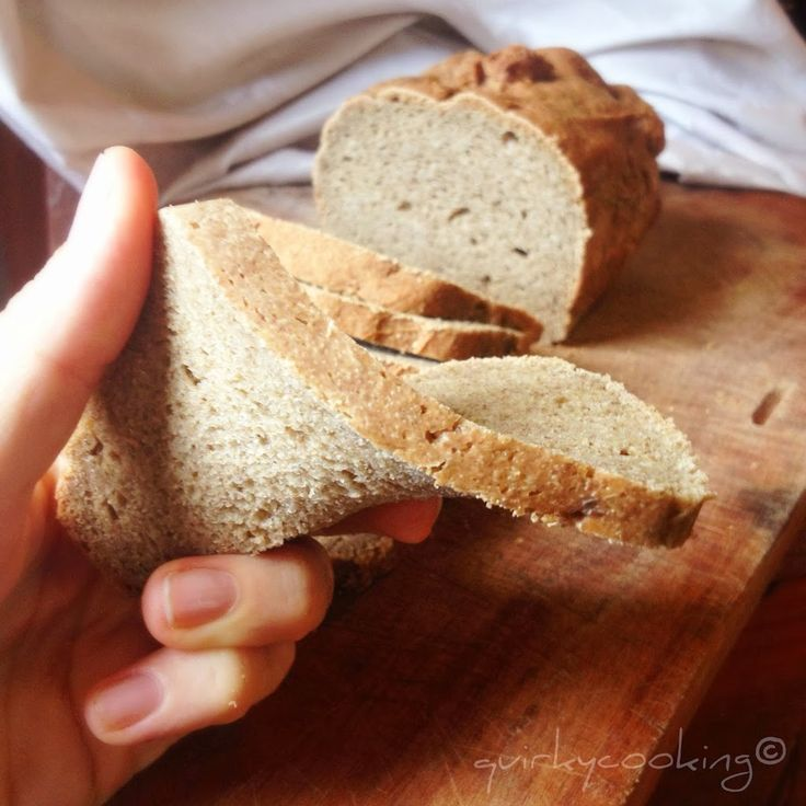 Chia Seed, Buckwheat & Quinoa Bread {egg free, gluten free & dairy free} - Quirky Cooking