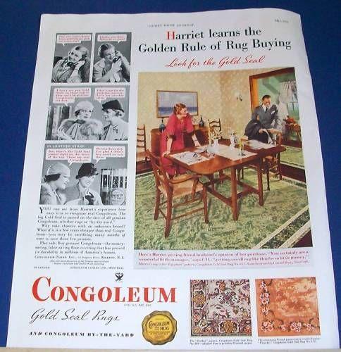 33 Best Linoleum Rugs C. 1920s-1950s Images On Pinterest