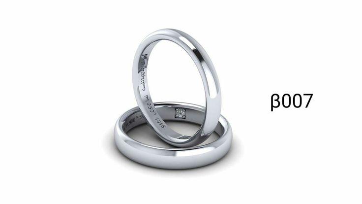 Wedding ring with platinum! Βερες από πλατίνα!