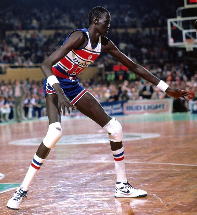 Manute Bol Washington Bullets