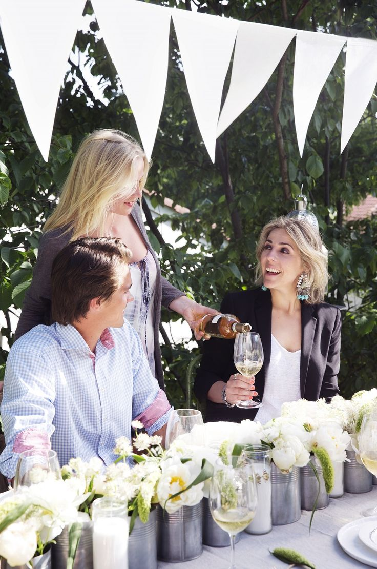 Party styling KK style!  Styling Tone Kroken Photo Yvonne Wilhelmsen  Summer party