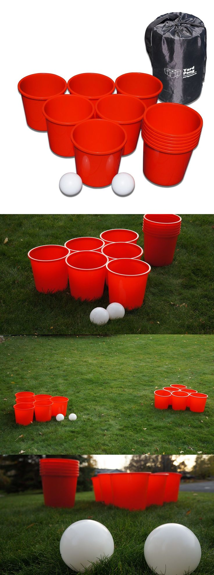 Other Backyard Games 159081: New Giant Yard Beer Pong Cup Ball Set Adult Outdoor Ball Games Party Accessories -> BUY IT NOW ONLY: $63.57 on eBay!