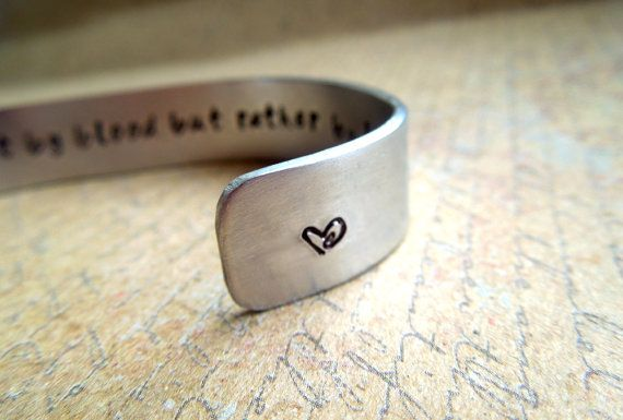 Sisters Gift Bracelet- Sorority Sister - Sisters Not by Blood -  Secret Message Cuff Bracelet by Smitten by Kristin on Etsy, $24.00