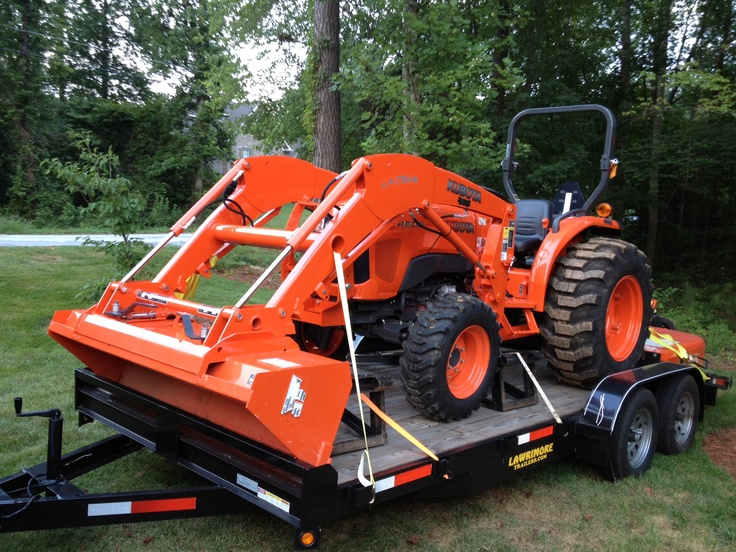 New tractor ready to roll