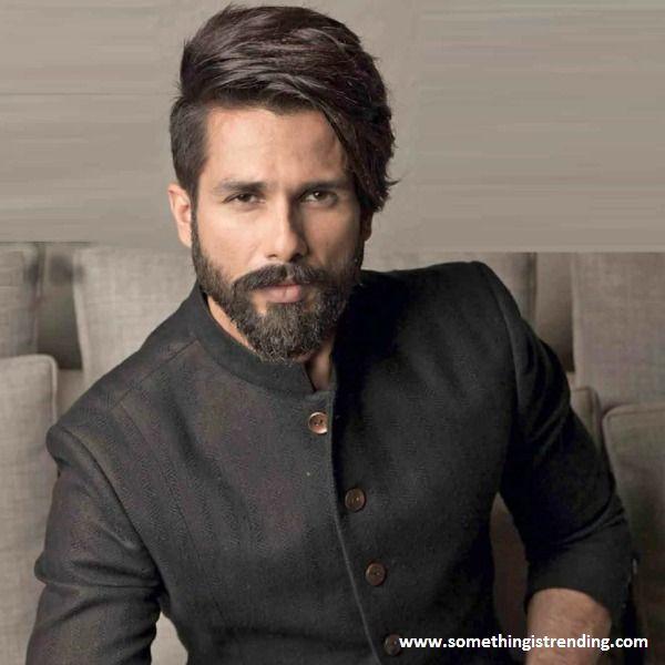 Shahid Kapoor 2018 Indian Hairstyles Boys Beard Style Hair And Beard Styles