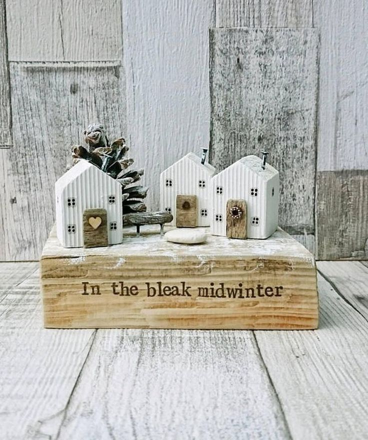 99 Amazing Wooden Winter Decoration Ideas