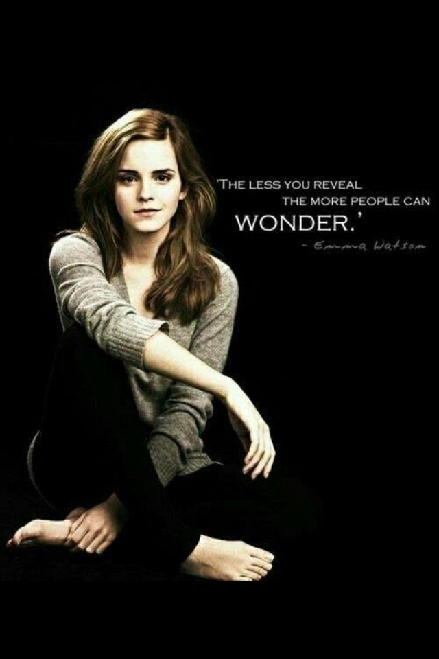 Inspiring Emma Watson quotes <3 such a great role model