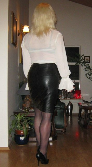 Black Leather Skirts Leather Skirt Women Wear