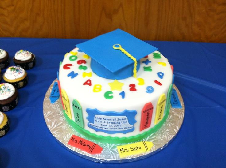 Pre K Graduation Cake