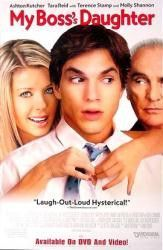 My Boss's Daughter 2003 Movie Poster 27x40 MCP0023 Used Tara Reid, Ashton Kutcher, Carmen Electra,