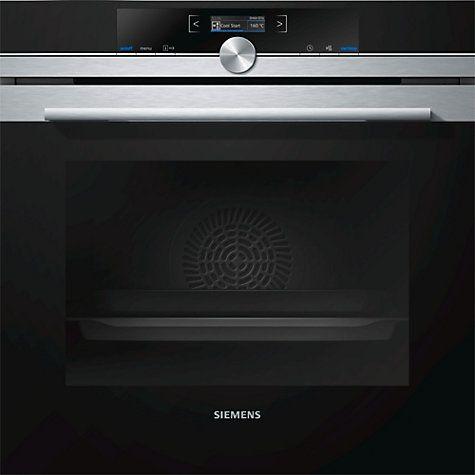 Buy Siemens HB672GBS1B Built-In Single Oven, Stainless Steel Online at johnlewis.com
