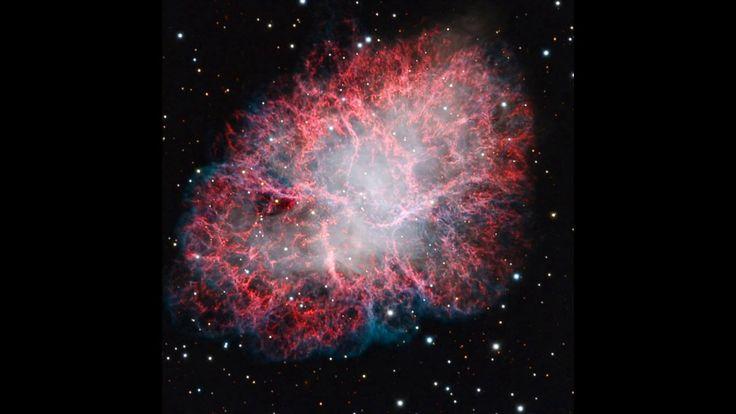 M1: The Crab Nebula Supernova Remnant (animation)