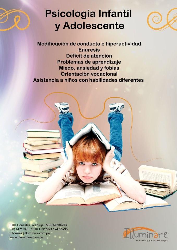 Psicología Infantil y adolescente