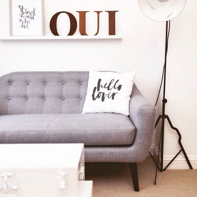 Upload a snap to MADE.COM/Unboxed a la @rockmystyleblog and you could win a £100 voucher. Oui. #madeunboxed #madedotcom #grey #sofa