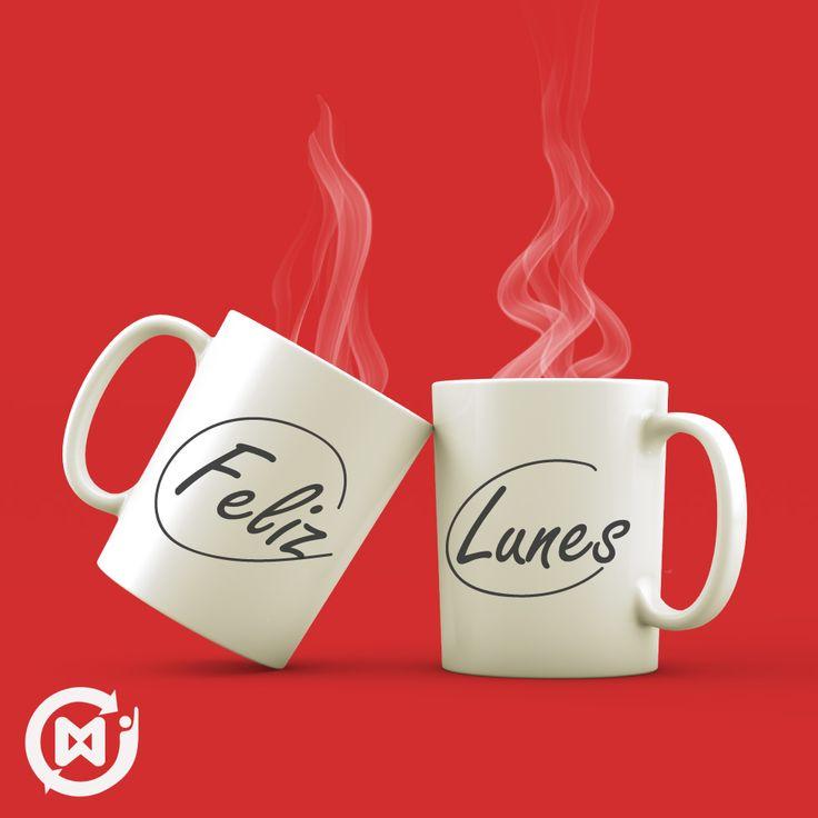 Comparte un café para iniciar este Feliz lunes
