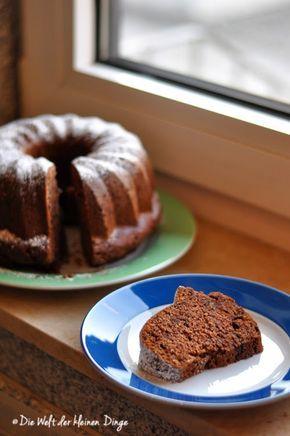 Die Welt der kleinen Dinge: Bananen-Schoko-Kuchen