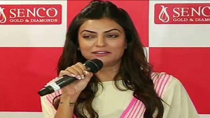 Bollywood Beauty 'Sushmita Sen' launches Senco Gold and Diamonds Store