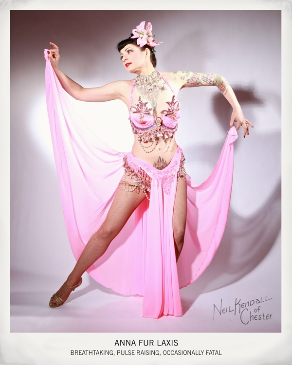 Best 100 burlesque images on pinterest costume ideas fashion tattooed beauty anna fur laxis a pun on anaphylaxis is a pin up model and noted burlesque performer incorporating classic burlesque elements with solutioingenieria Choice Image
