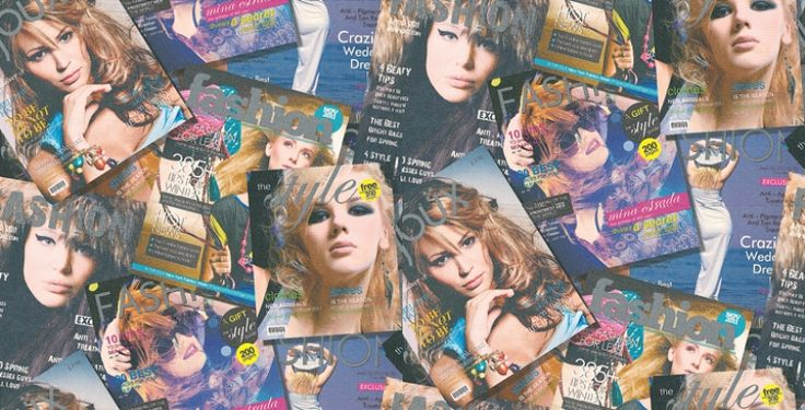 Fashion Magazine (MW-50100) - Brewers Wallpapers - A teenage fashion style feature wallpaper