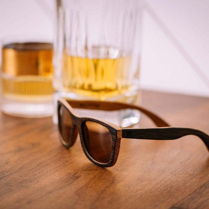 These Sunglasses Used to Be Whiskey Barrels