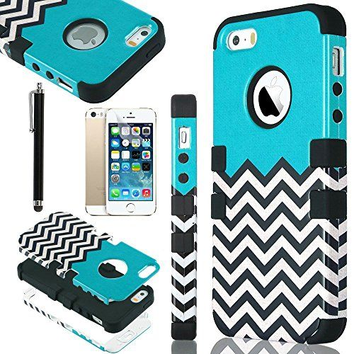 iPhone 5S Case, Pandamimi ULAK(TM) Lastest Pattern Hybrid High Impact Soft TPU + Hard PC Case Cover for Apple iPhone 5S 5 5G with Screen Protector and Stylus (Follow the sky) ULAK http://www.amazon.com/dp/B00GX5XRNS/ref=cm_sw_r_pi_dp_LNc2ub0KACKRH
