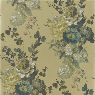 Seraphina Wallpaper A Divine Printed Wallpaper In Graphite Tones On A Cream  Background. Vivacious Hand Painted Floral Displays Upon A Plastered  Background ... Amazing Ideas