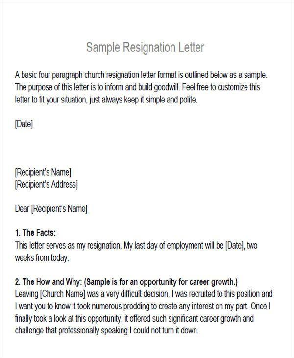 Amp Pinterest In Action Resignation Letter Resignation Letter Sample Letter Templates
