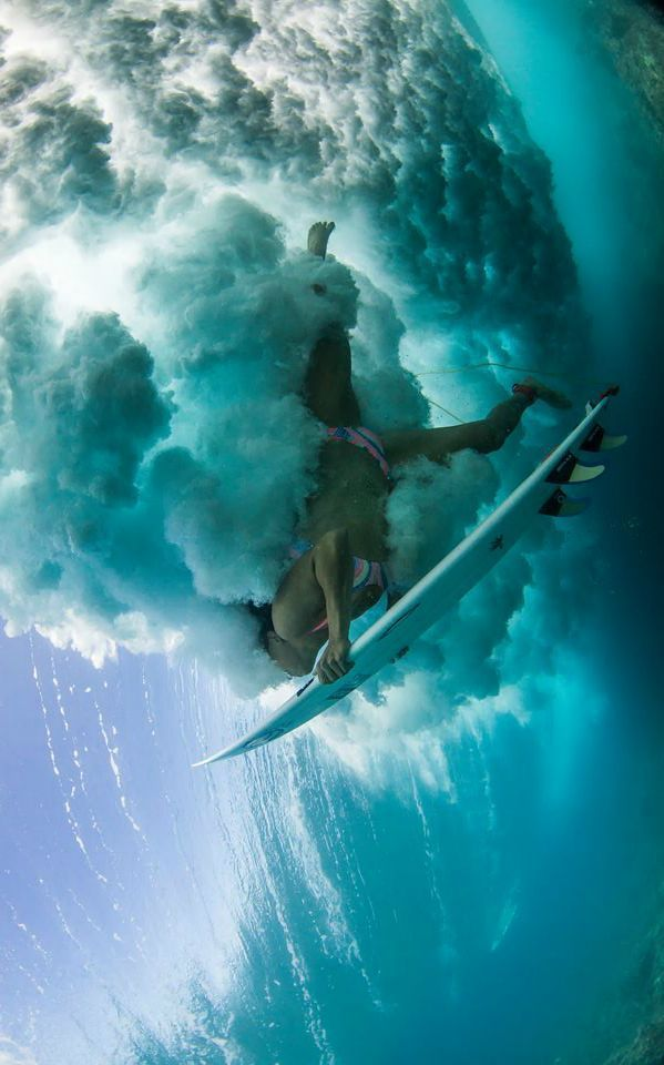 La foto de surf de nasti