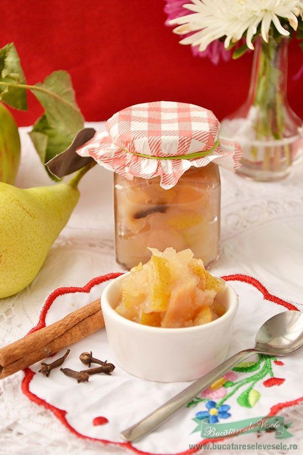 Dulceata de pere si mere cu indulcitorul Green Sugar – de la Laboratoarele Remedia - DIABET