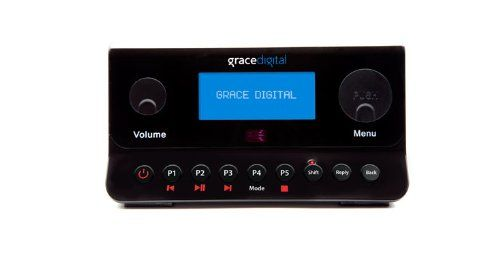 Grace Digital GDI-IRA500 Wireless Internet Radio Adapter Featuring Pandora, NPR and SIRIUS Connects your home stereo directly to your Internet without the need of a computer. Listen to over 18,000 AM / FM free radio and HD stations including Pandora, NPR, CBS. Save up to 10 station presets on the front of the radio and included remote control (alternately supports free iPhone/iTouch remote App). B... #GraceDigital #Speakers
