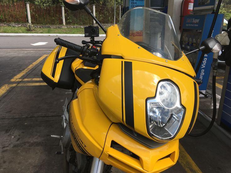 Ducati Multistrada. Soporte de GoPro