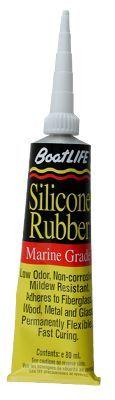 BoatLIFE Marine Silicone Rubber Sealant - Black - 2.8 oz.