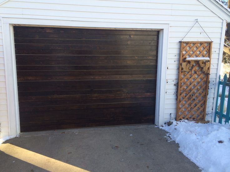 exceptional garage door refacing #5: Reface your fiberglass garage door yourself for $80! Way cheaper and gives  it some appeal! | DIY projects | Pinterest | Fiberglass garage doors, Garage  ...
