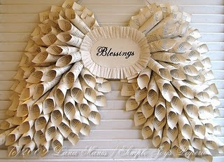 Blessings wreath... Awesome!!