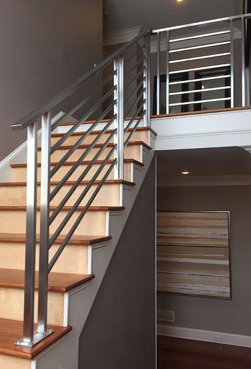 Residential Steel Railings in 2020   Steel railing design ...
