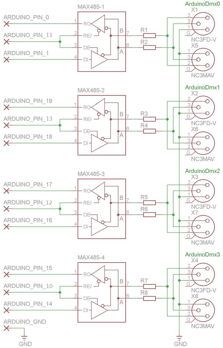 10 Best Arduino Images On Pinterest Computer Science Technology Collection Of Informative Circuit Simulations Eeweb Community Schematic For Four Universes Dmx Shield Use With Our Library All Resistor Are Ohm Wat Integrated Circuits
