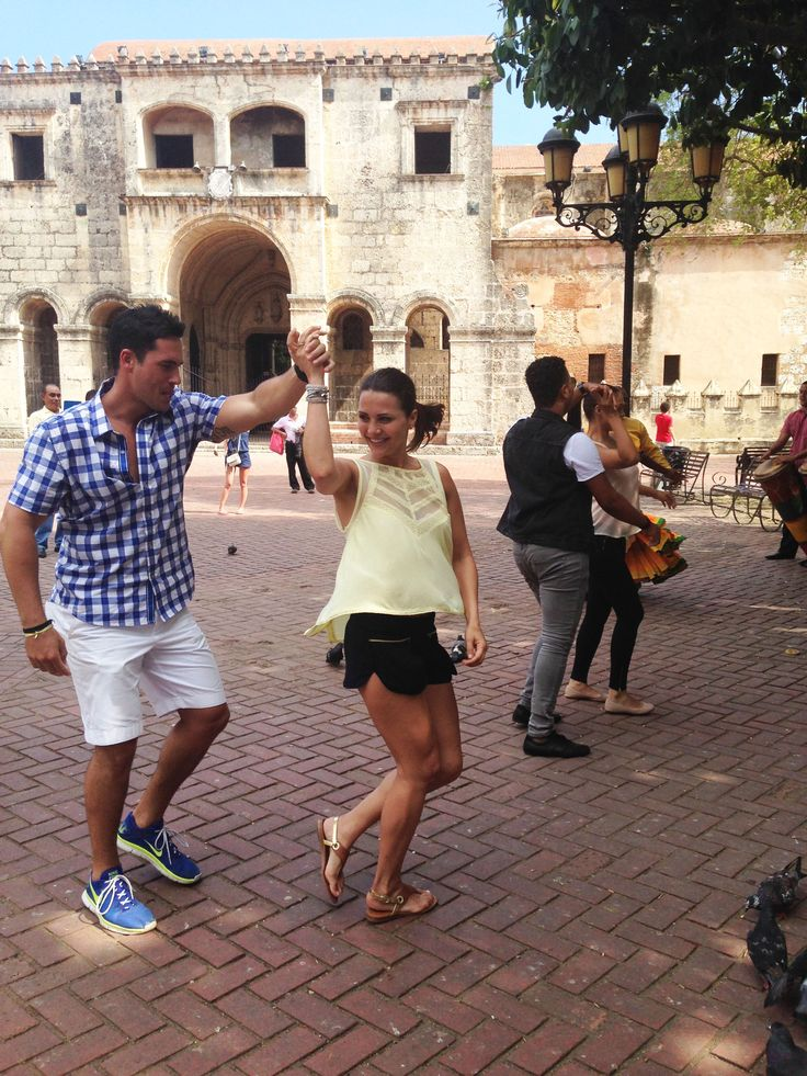Merengue is a big part of Dominican Republic culture. Andi and Josh had a fun-filled day in Santo Domingo learning this romantic dance together!