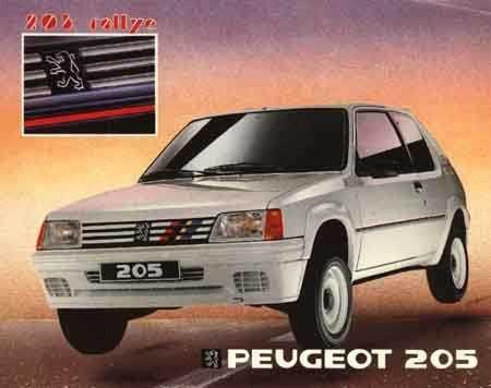 Peugeot 205 Rallye PUB