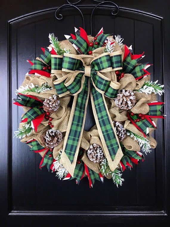Best 25+ Front door wreaths ideas on Pinterest   Wreaths ...