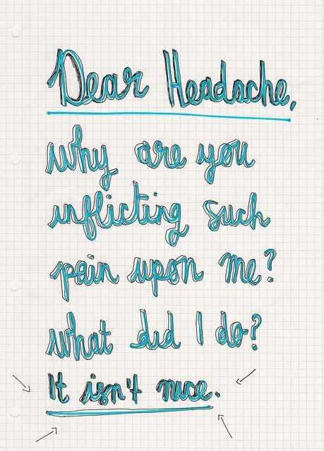 Migraine Go Away Quotes: Quotes I Hate Headaches. QuotesGram