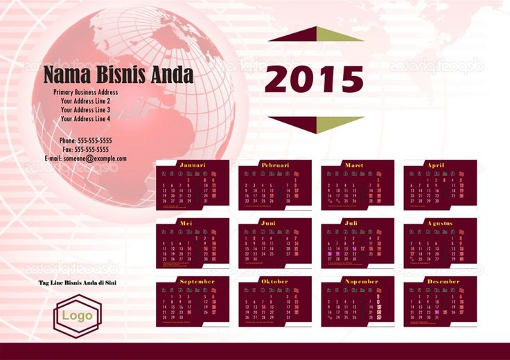 Kalender 2015 Indonesia - Design_22_Jester