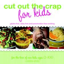 Cut Out the Crap for Kids has over 80 tasty recipes that are all gluten, dairy and preservative free  http://encore.sutherlandshire.nsw.gov.au/iii/encore/record/C__Rb1219474__SCut%20out%20the%20crap%20for%20kids%20%3A%20gluten%20free%2C%20dairy%20free%20and%20preservative%20free%20cooking%20%3A%20for%20the%20love%20of%20our%20kids%20ages%200-100__Orightresult__X4?lang=engsuite=cobalt