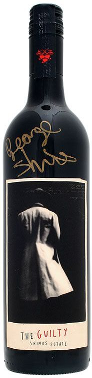 Wine Labels - George Shinas Estate - The Guilty #cCreams #cBlack