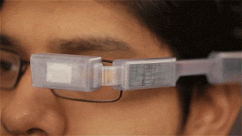 Google glass alternative - DIY Wearable Pi with Near-Eye Video Glasses